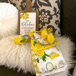 Lemons kitchen bundle decor